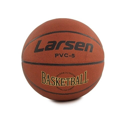 Баскетбольный мяч Larsen PVC5, р. 5 коричневый баскетбольный мяч larsen pu6 р 6