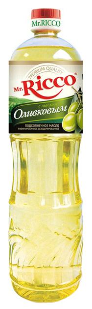 Mr.Ricco Масло подсолнечное Organic с оливковым