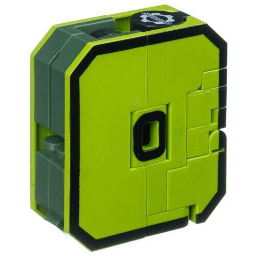 Купить Трансформер BONDIBON Bondibot цифра 0 (ВВ4348) зеленый, Роботы и трансформеры