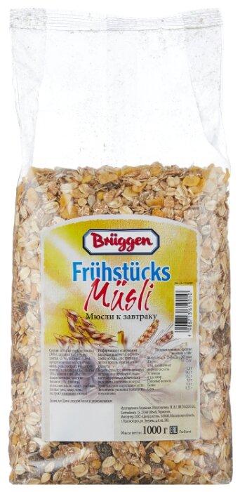 Мюсли Bruggen хлопья к завтраку, пакет, 1000 г