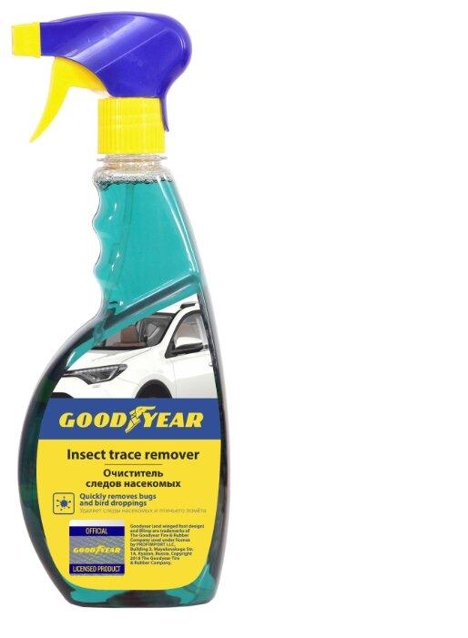 Очиститель кузова GOODYEAR от следов насекомых и древесных почек GY000600, 0.5 л