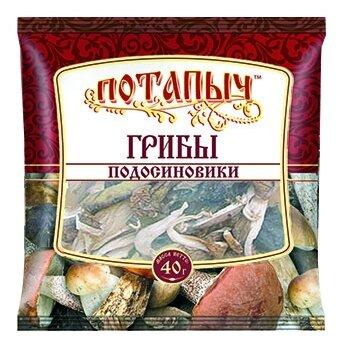 Потапычъ Подосиновики сушеные, пакет полиэтиленовый (Россия)