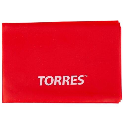 Эспандер лента TORRES AL0020 120 х 15 см красный эспандер бабочка torres thigh