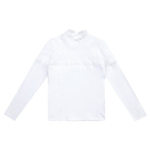 Блузка playToday размер 122, белый