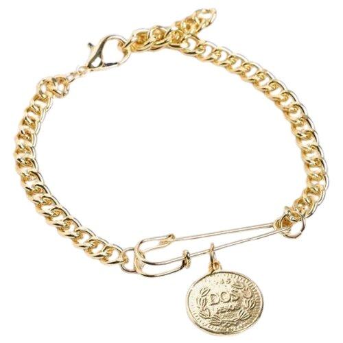 Queen fair Браслет Цепь булавка с медальоном 5049573 24 см