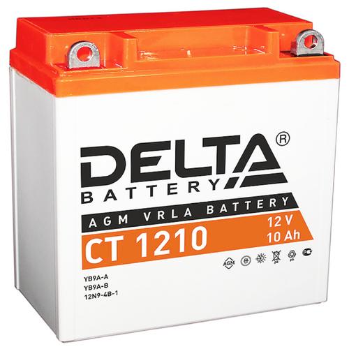 Мото аккумулятор DELTA Battery CT 1210 (YB9A-A / YB9-B / 12N9-4B-1)
