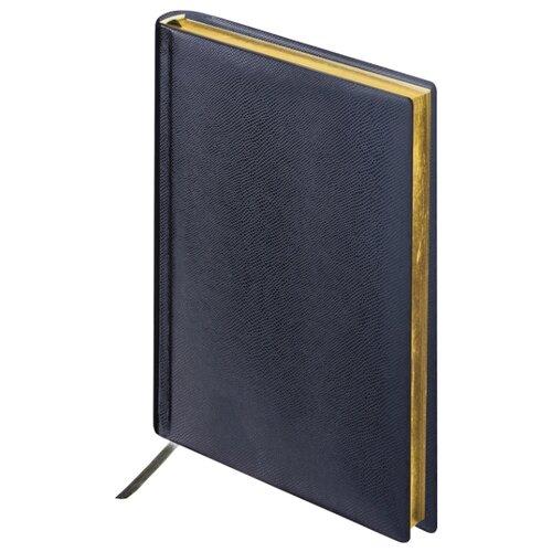 Купить Ежедневник BRAUBERG Iguana недатированный, искусственная кожа, А6, 160 листов, черный, Ежедневники, записные книжки
