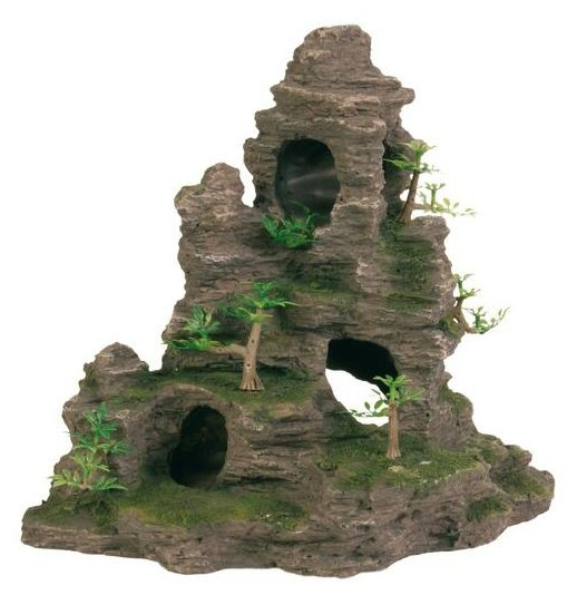 Грот TRIXIE Скалы с пещерой с растениями (8859) высота 31.5 см