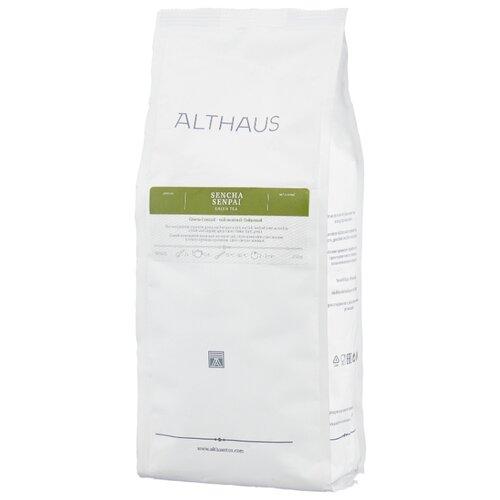 Чай зеленый Althaus Sencha Senpai, 250 г althaus essence of fruin фруктовый листовой чай 250 г