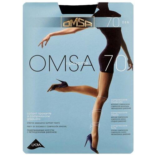 Колготки Omsa Omsa 70 den, размер 3-M, nero (черный) колготки omsa silhouette 15 den размер 3 m nero