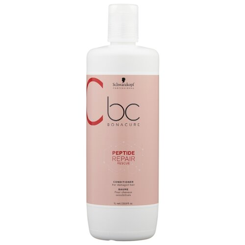 BC Bonacure кондиционер Peptide Repair Rescue, 1000 мл шварцкопф bc bonacure hairtherapy fibreforce