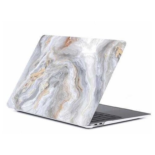 Чехол-накладка Gurdini Plastic Matt for Macbook Pro New 2019 16 серый чехол gurdini для macbook air 11 plastic matt gold 220176