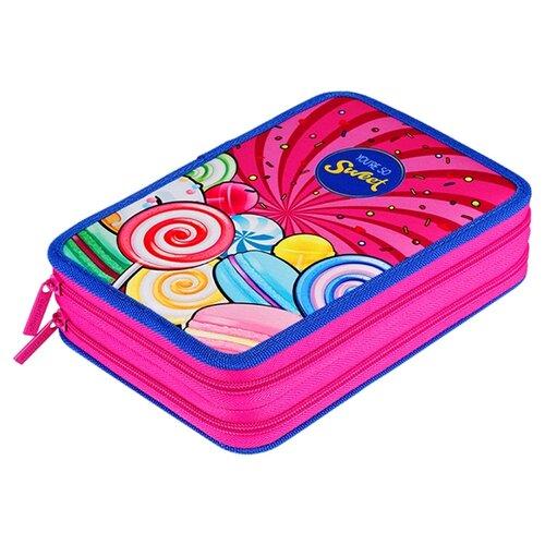 Купить Berlingo Пенал Sweets (PK06323) розовый, Пеналы