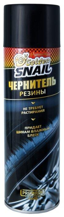 Очиститель-полироль шин Golden Snail GS2204, 650 мл