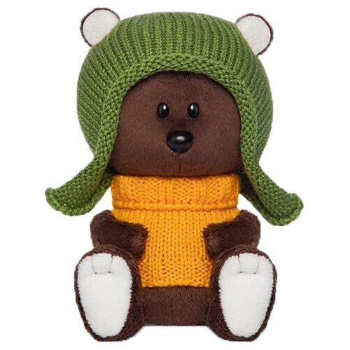 Фото - Мягкая игрушка Лесята Медведь Федот в шапочке и свитере 15 см мягкая игрушка лесята ёжик игоша в свитере 15 см