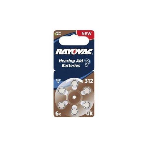 Фото - Батарейка RAYOVAC 312, 6 шт. батарейка rayovac extra za312 6 шт