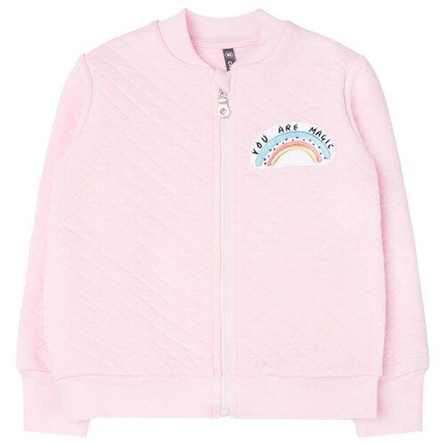 Купить Олимпийка crockid размер 92, розовое облако, Джемперы и толстовки