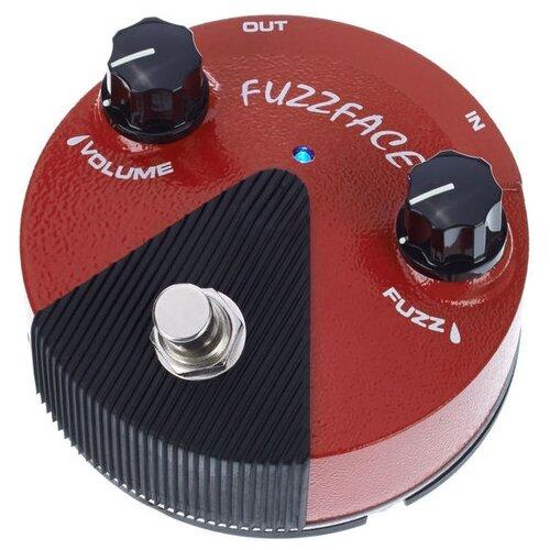 Dunlop педаль FFM2 Germanium Fuzz Face Mini Distortion dunlop ffm4 joe bonamassa fuzz face mini distortion limited edition pedal