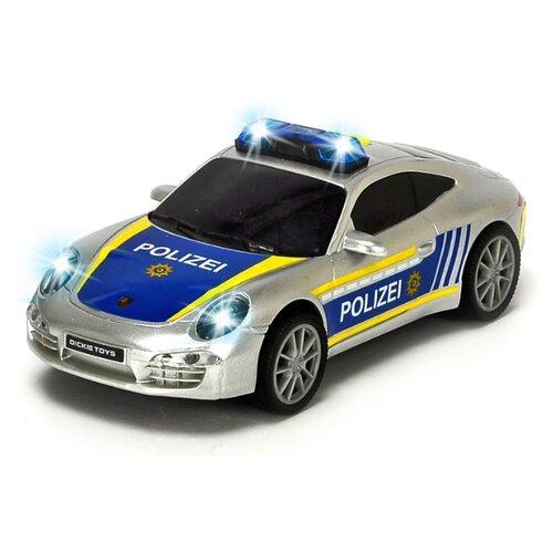 Купить Легковой автомобиль Dickie Toys Porsche (3712014-1) 1:32 15 см серебристый, Машинки и техника