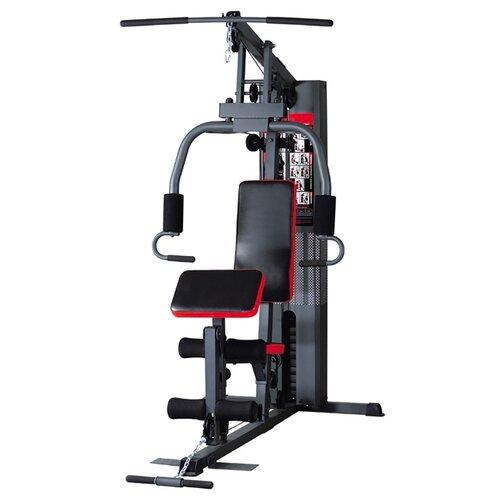 Многофункциональный тренажер DFC D3001D черный/красный тренажер многофункциональный royal fitness bench 1520