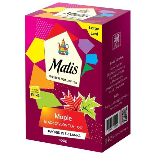 Чай черный Matis Maple O.P., 100 г недорого