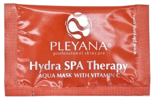 PLEYANA Аква-маска с витамином С Hydra SPA Therapy