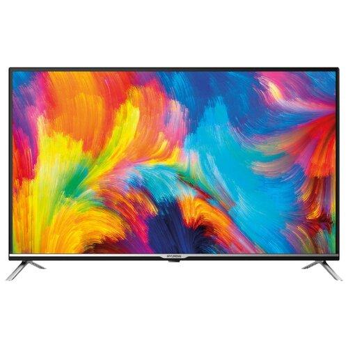 Фото - Телевизор Hyundai H-LED32ET3001 32 (2019) черный/серебристый телевизор hyundai h led32et3021 32 2019 белый