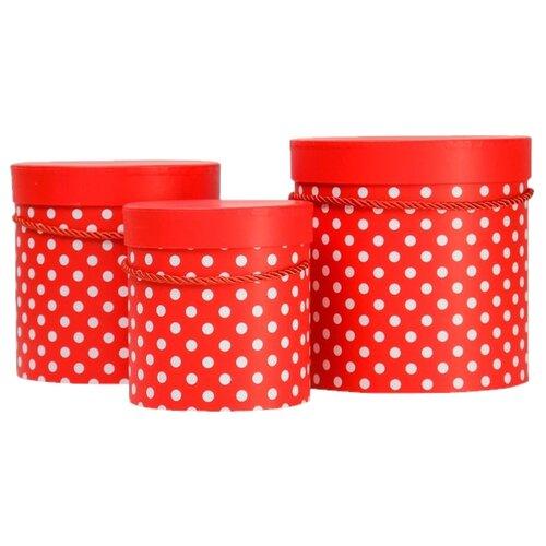 Фото - Набор подарочных коробок Shantou Jin Wei Ming Arts & Crafts Product Горох, 3 шт красный набор подарочных коробок tai an baoli paper product co ltd фауна 17 шт желтый