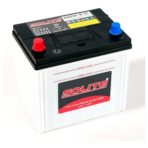 Автомобильный аккумулятор Solite 85D23R автомобильный аккумулятор solite silver 70b24l