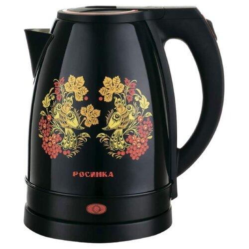 Чайник Росинка РОС-1014, черный росинка рос 501
