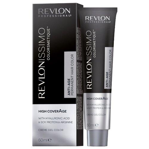 Revlon Professional Revlonissimo High Coverage стойкая краска для волос, 60 мл, 7-32 перламутрово-золотистый блондин