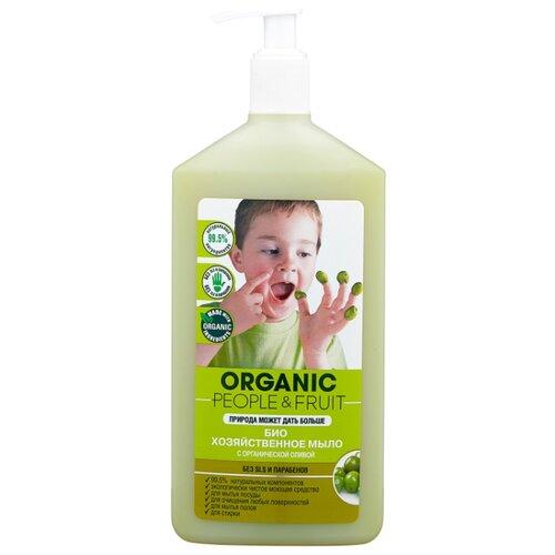 Хозяйственное мыло Organic People Био с органической оливой 0.5 л
