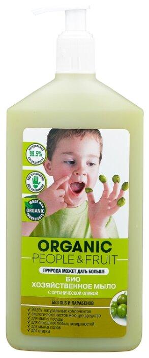 Хозяйственное мыло Organic People Био с органической оливой