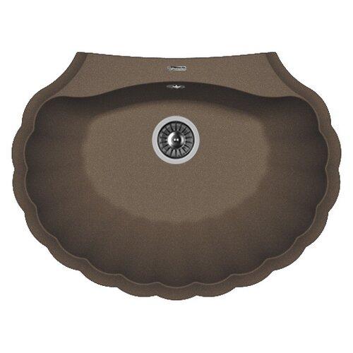 Фото - Врезная кухонная мойка 69.5 см FLORENTINA Гребешок мокко врезная кухонная мойка 69 5 см florentina гребешок мокко