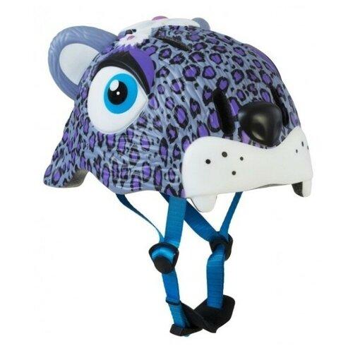 Шлем Crazy Safety Purple Leopard 2017