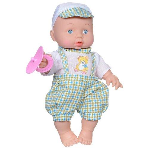 Купить Интерактивный пупс Карапуз в комбинезоне, 25 см, 203-Q-RU, Куклы и пупсы