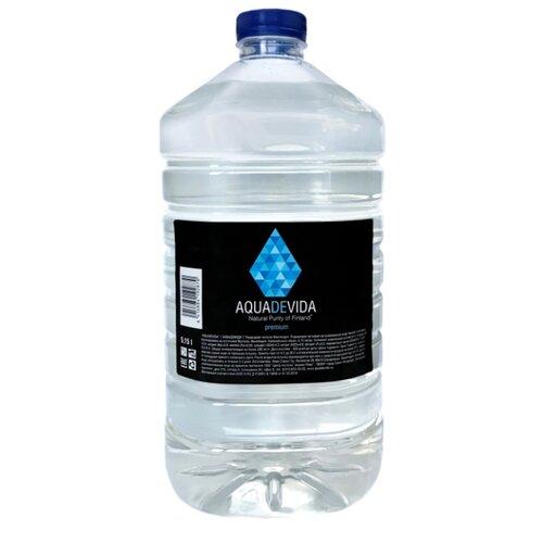 Вода питьевая родниковая Aquadevida негазированная, ПЭТ, 5.15 л