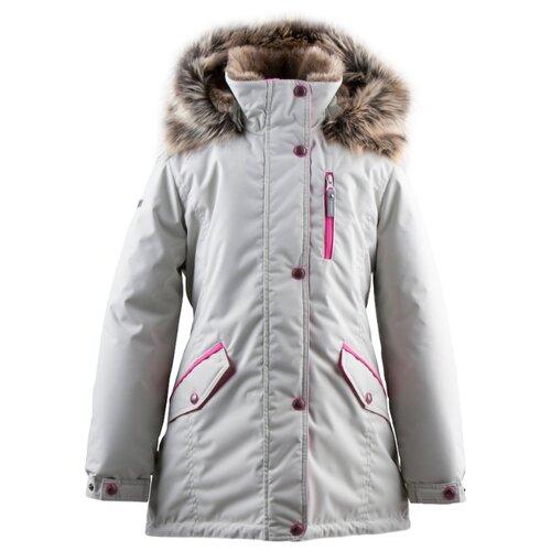 Купить Парка KERRY Angel K19462 размер 152, 101 серый, Куртки и пуховики
