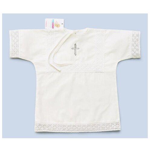 Рубашка ИвБэби размер 74, белый
