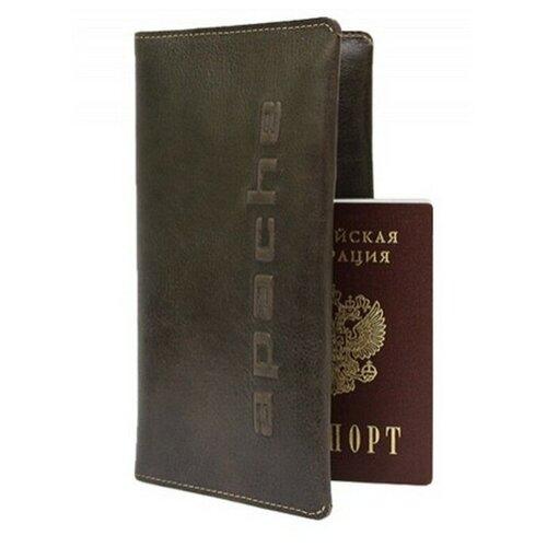 Бумажник путешественника Apache ВОЯЖ-А, коричневый