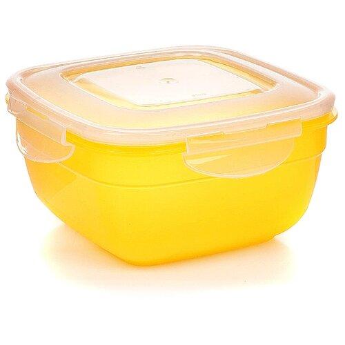 Phibo Контейнер Safe Food для хранения продуктов 1л желтый phibo контейнер для хранения продуктов на защелке 2 л