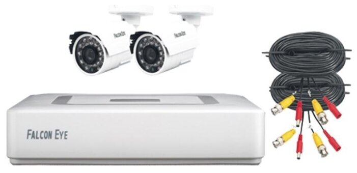 Комплект видеонаблюдения Falcon Eye FE-104MHD KIT Light 2 камеры