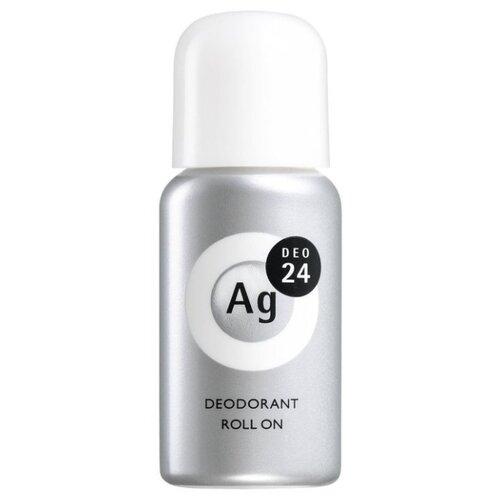 Shiseido дезодорант-антиперспирант, ролик, Ag DEO24 без запаха, 40 мл