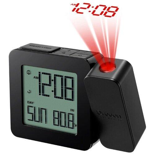 Часы проекционные Oregon Scientific RM338PX с термометром черные