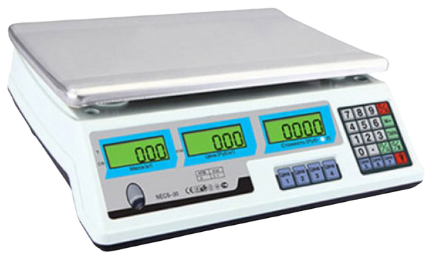 Весы торговые Romitech NECS-35-1 White
