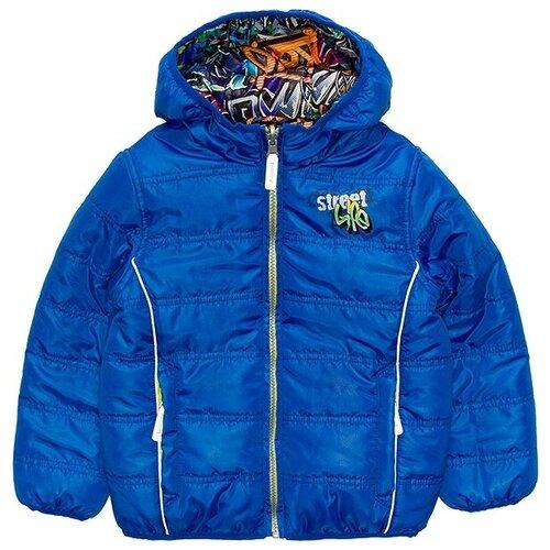 Фото - Куртка Acoola 20120130070 размер 128, синий джемпер для девочки acoola pansy цвет светло розовый 20220310076 3400 размер 128