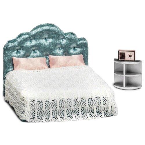 Купить Lundby Набор мебели для спальни (LB_60200600) белый/зеленый, Мебель для кукол