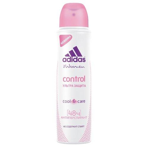 Adidas дезодорант-антиперспирант, спрей, Cool&Care Control ультра защита, 150 мл adidas дезодорант антиперспирант спрей cool