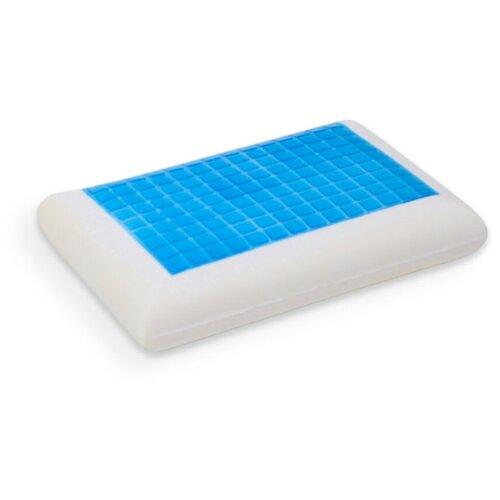 Двухсторонняя гелевая подушка с эффектом памяти Fresh Sleep (60х40х13 см), EcoSapiens, ES-78034