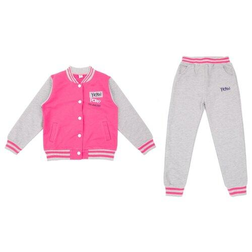 Купить Комплект одежды Fun time размер 74, розовый/серый, Комплекты
